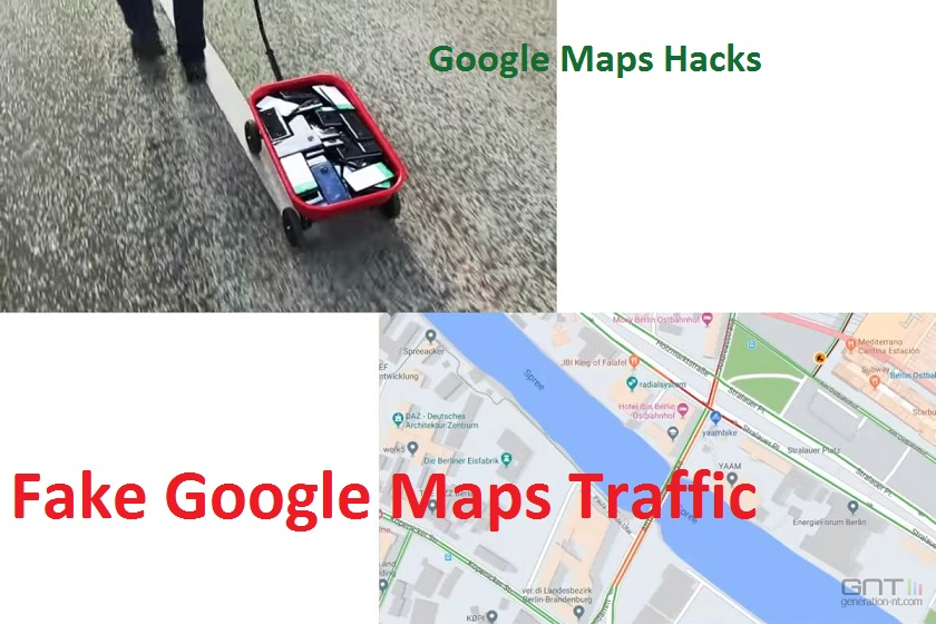 How To Create Fake Google Maps Traffic Using Multiple Smarthhones